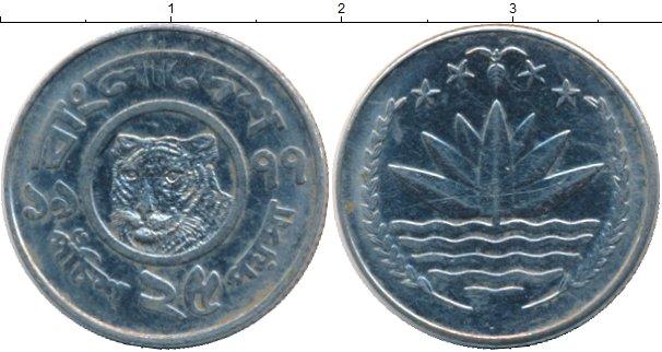 Картинка Монеты Бангладеш 25 пойша Медно-никель 1981