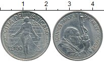 Изображение Монеты Ватикан 100 лир 1998 Медно-никель XF