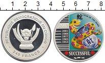 Изображение Монеты Конго 240 франков 2013 Серебро Proof