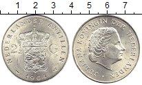 Изображение Монеты Нидерланды Антильские острова 2 1/2 гульдена 1964 Серебро XF