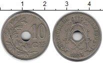 Изображение Монеты Бельгия 10 сантим 1923 Медно-никель XF