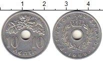 Изображение Монеты Греция 10 лепт 1959 Алюминий XF