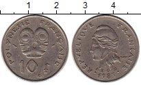 Изображение Монеты Франция Полинезия 10 франков 1983 Медно-никель XF