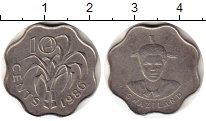Изображение Монеты Свазиленд 10 центов 1986 Медно-никель UNC-