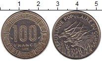 Изображение Монеты Конго 100 франков 1975 Медно-никель XF