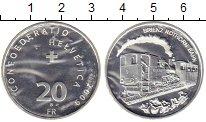Изображение Монеты Швейцария 20 франков 2009 Серебро UNC-