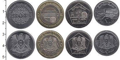 Изображение Наборы монет Сирия Сирия 1994-2004 0  UNC В наборе 4 монет ном