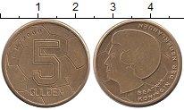 Изображение Монеты Нидерланды 5 гульденов 2000 Латунь UNC-