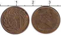 Изображение Монеты Новая Зеландия 1 пенни 1982 Бронза XF