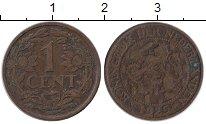 Изображение Монеты Нидерланды 1 цент 1925 Бронза XF