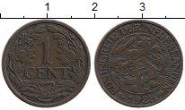 Изображение Монеты Нидерланды 1 цент 1928 Бронза XF