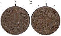 Изображение Монеты Нидерланды 1 цент 1937 Бронза XF