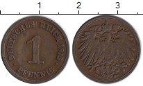 Изображение Монеты Германия 1 пфенниг 1915 Медь XF