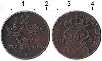 Изображение Монеты Швеция 2 эре 1944 Железо XF