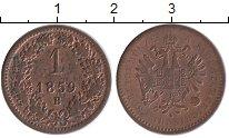 Изображение Монеты Австрия 1 крейцер 1859 Медь XF-