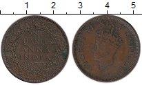Изображение Монеты Индия 1/4 анны 1939 Бронза VF