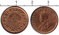 Изображение Монеты Индия 1/12 анны 1927 Бронза UNC-