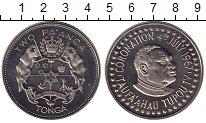 Изображение Монеты Тонга 2 паанга 1967 Медно-никель UNC