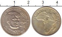 Изображение Монеты Чад 100 франков 1970 Серебро UNC-