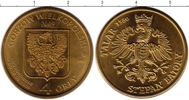 Картинка Монеты Польша Жетон Латунь 2009