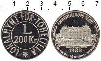 Изображение Монеты Швеция 200 крон 1982 Серебро Proof-