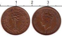 Изображение Монеты Шри-Ланка Цейлон 1/2 цента 1940 Бронза XF