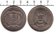 Изображение Монеты Доминиканская республика 1 песо 1979 Медно-никель UNC-
