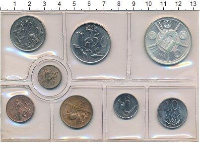 Изображение Наборы монет ЮАР ЮАР 74 1974   В наборе 8 монет ном