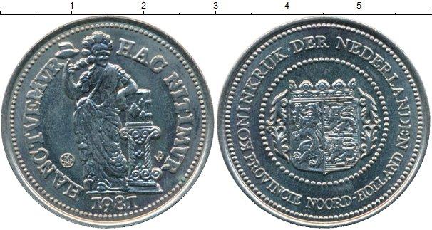 Картинка Монеты Нидерланды Жетон Медно-никель 1981