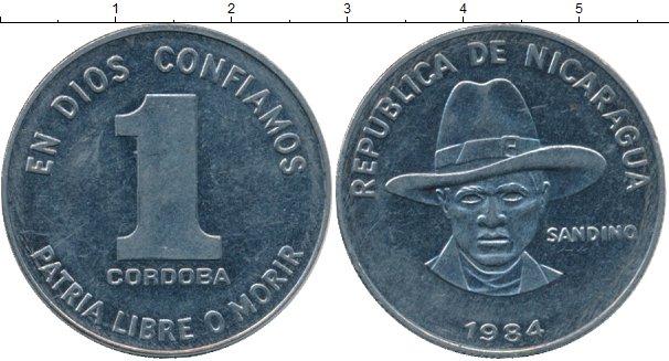 Картинка Монеты Никарагуа 1 кордоба Медно-никель 1984
