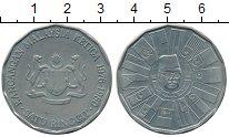 Изображение Мелочь Малайзия 1 рингит 1980 Медно-никель UNC-