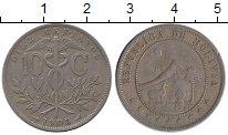 Изображение Монеты Боливия 10 сентаво 1908 Медно-никель XF