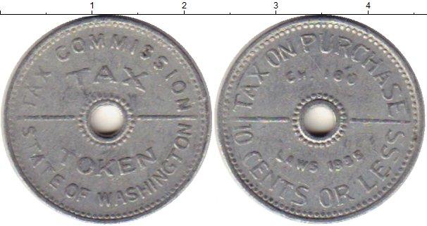 Картинка Монеты США Жетон Алюминий 0