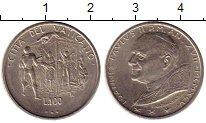 Изображение Монеты Ватикан 100 лир 1995 Медно-никель UNC-