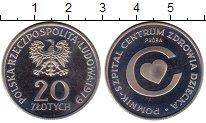 Монета Польша 20 злотых Медно-никель 1979 Proof- фото
