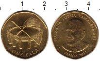 Изображение Монеты Самоа 1 тала 2011 Латунь UNC