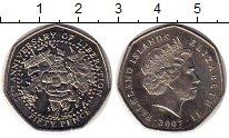 Изображение Монеты Великобритания Фолклендские острова 50 пенсов 2007 Медно-никель UNC-