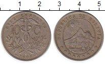 Изображение Монеты Боливия 10 сентаво 1909 Медно-никель XF