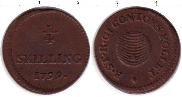 Картинка Монеты Швеция 1/4 скиллинга Медь 1799