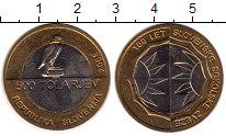 Изображение Монеты Словения 500 толаров 2005 Биметалл UNC-