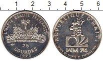 Изображение Монеты Гаити 25 гурдес 1973 Серебро Proof-