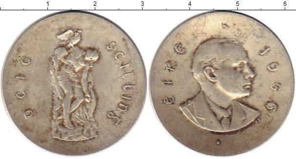 Картинка Монеты Ирландия 10 шиллингов Серебро 1966