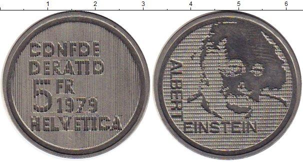 Картинка Монеты Швейцария 5 франков Медно-никель 1979