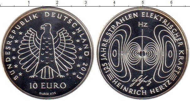 Картинка Монеты Германия 10 евро Серебро 2013