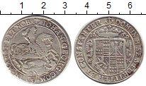 Изображение Монеты Германия Мансвелд 1/3 талера 1669 Серебро VF+