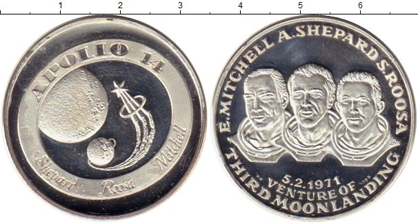 Картинка Монеты США Медаль Серебро 0