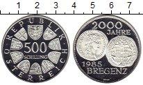 Изображение Монеты Австрия 500 шиллингов 1985 Серебро Proof-