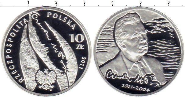 Картинка Монеты Польша 10 злотых Серебро 2011