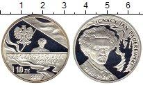 Изображение Монеты Польша 10 злотых 2011 Серебро Proof-