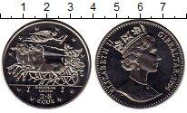 Изображение Монеты Гибралтар 2,8 экю 1994 Медно-никель UNC